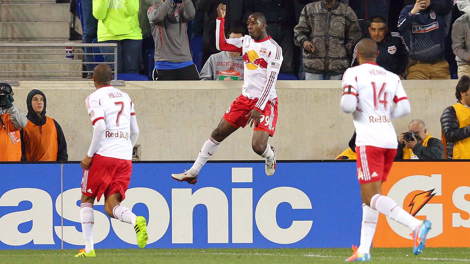 MLS: Houston Dynamo at New York Red Bulls