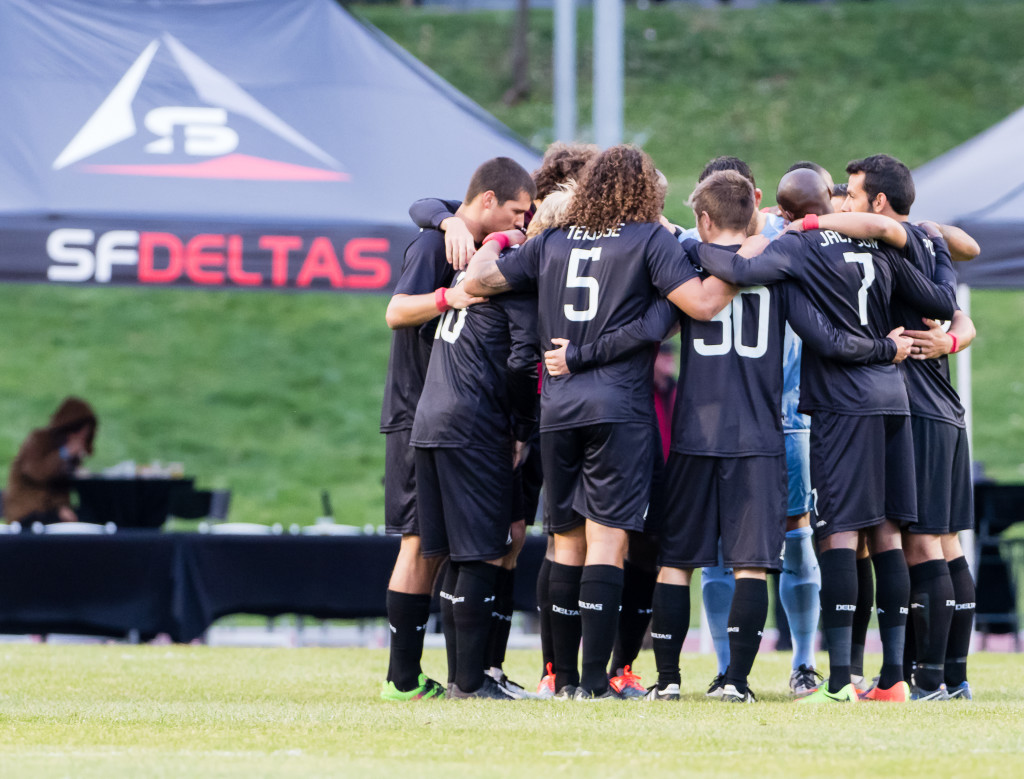 Soccer: SF Deltas v Sac Republic